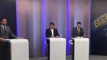 Candidatos do 2º turno em Vitória debatem na TV Gazeta nesta sexta (Divulgação/ TV Gazeta)