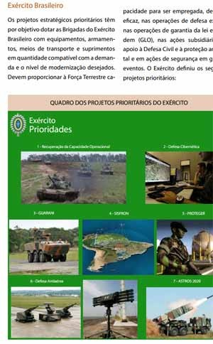 exercito_especial_livro_branco_prioridades_300 (Foto: Reprodu&#231;&#227;o)