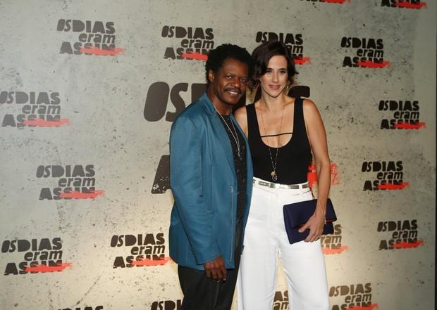 Mariana Lima e Bukassa Kabengele (Foto: Marcos Serra Lima / Ego)