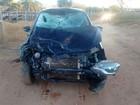 Acidente entre carro e moto deixa um ferido e dois mortos no interior do PI