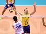 Com força do saque, Brasil vence a Sérvia e segue líder do grupo na Liga