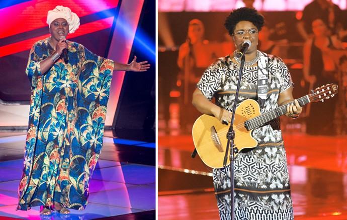 O estilo de Paula Senffer e Ellen Oléria são um sucesso por si só (Foto: Isabella Pinheiro/TV Globo)