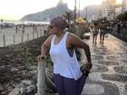 Gaby Amarantos sofre com dieta: 'Só eu sei a dor'