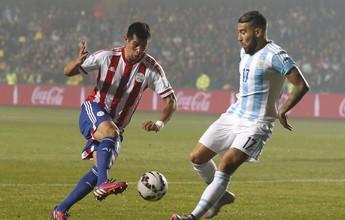 """Após 6 a 1, Cáceres elogia Argentina e compara com Brasil: """"Mais pulsante"""""""