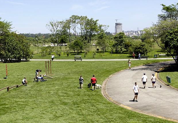 Parque Villa-Lobos, na zona oeste de São Paulo (Foto: Divulgação - Prefeitura de São Paulo)