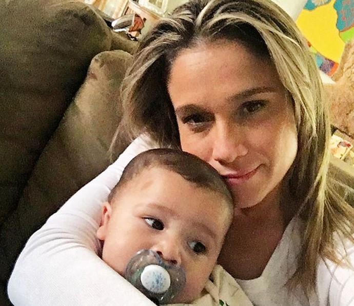 Fernanda ama ficar na companhia dos filhos (Foto: Arquivo Pessoal)