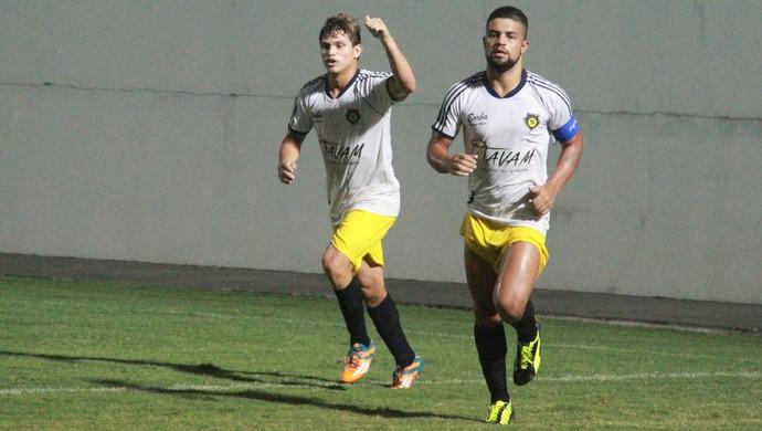 Borbense venceu Operário-AM por 3 a 1 (Foto: Marcos Dantas)
