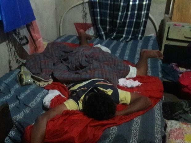 Crianças foram abandonadas em casa em Barretos, SP (Foto: Divulgação/Conselho Tutelar)