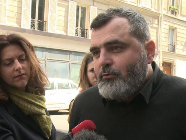 Fréderic Desnard, professor que processa a ex-empresa porque o trabalho era entediante (Foto: Reprodução/AFP)