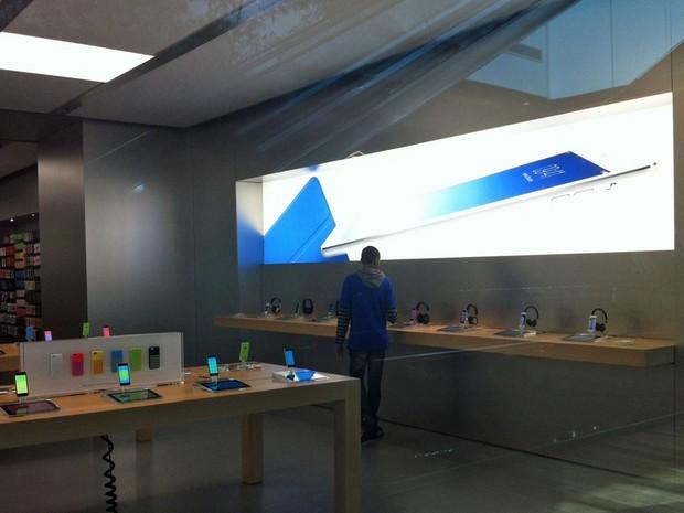G1 - Conheça a primeira loja oficial da Apple no Brasil