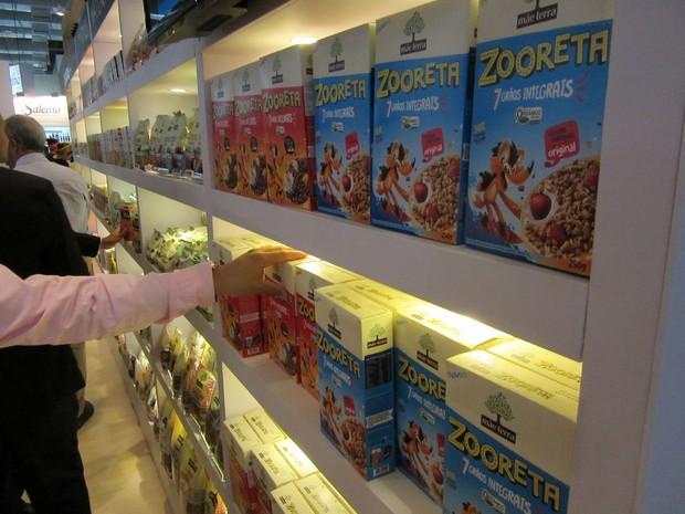 Mirando em pais mais preocupados com a alimentação dos filhos, Mãe Terra lançou cereais infantis com grãos integrais, orgânicos e com 30% menos açúcar.  (Foto: Karina Trevizan/G1)