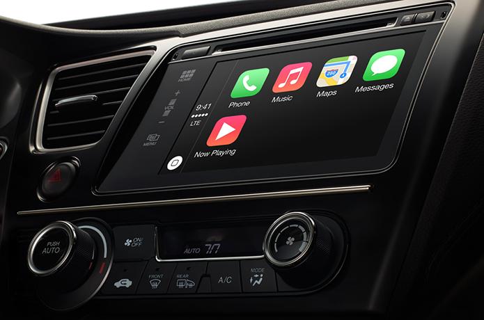 Carros começarão a oferecer suporte a funções do iPhone no painel (Foto: Divulgação/Apple)