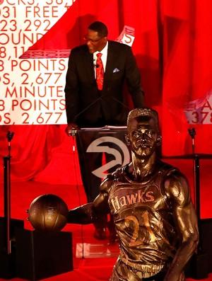 Estátua Dominique Wilkins (Foto: Getty)