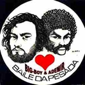 Newton Duarte, o Big Boy, e Ademir Lemos: os criadores do Baile da Pesada (Foto: Reprodução)