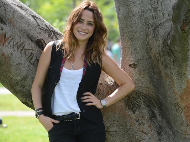 Fernanda Vasconcellos está no elenco de Sangue Bom (Foto: TV Globo / João Paulo Cardeal)