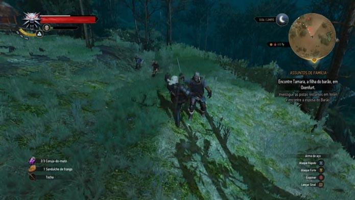 The Witcher 3: saiba como mandar bem no RPG (Foto: Reprodução/Murilo Molina)