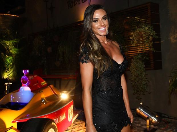 Nicole Bahls em evento em São Paulo (Foto: Manuela Scarpa/ Foto Rio News)