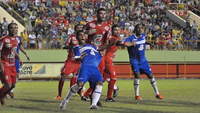 Atlético-AC x Rio Branco - Decisão estadual 2014 (Foto: Manoel Façanha/Arquivo Pessoal)