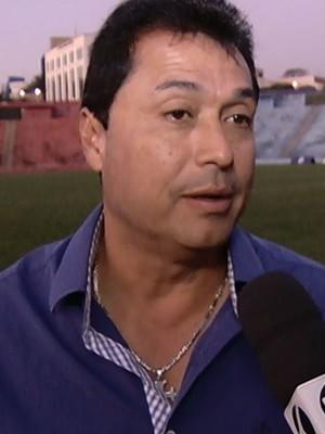 Técnico China Coimbra (Foto: Reprodução/TV Integração)