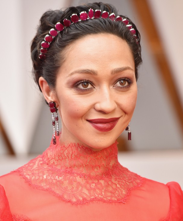 HOLLYWOOD, CA - FEBRUARY 26:  Actor Ruth Negga attends the 89th Annual Academy Awards at Hollywood & Highland Center on February 26, 2017 in Hollywood, California.  (Photo by Frazer Harrison/Getty Images) (Foto: Getty Images)