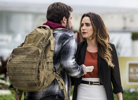 Bruna flagra Giovanni e Camila juntos: 'Não tô acreditando'