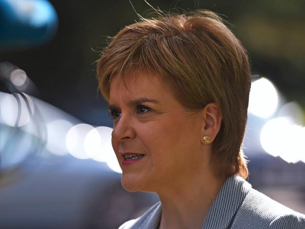 Escócia pode ter novo referendo pela independência, diz premiê escocesa, Nicola Sturgeon (Foto: Clodagh Kilcoyne/Reuters)