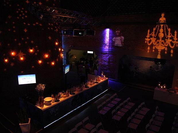 Decoração da festa entra no clima de Alto Astral! (Foto: Carol Caminha/TV Globo)