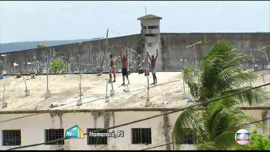 Detento morre após passar mal em penitenciária de Itamaracá, no Grande Recife