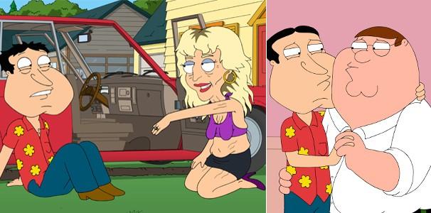 Quagmire tem quer ter uam relação com Peter para Charnisse aceitar divórcio (Foto: Divulgação/Reprodução)