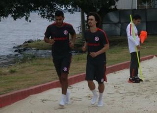 Brenner Valdívia - treino do Inter (Foto: Tomás Hammes/GloboEsporte.com)