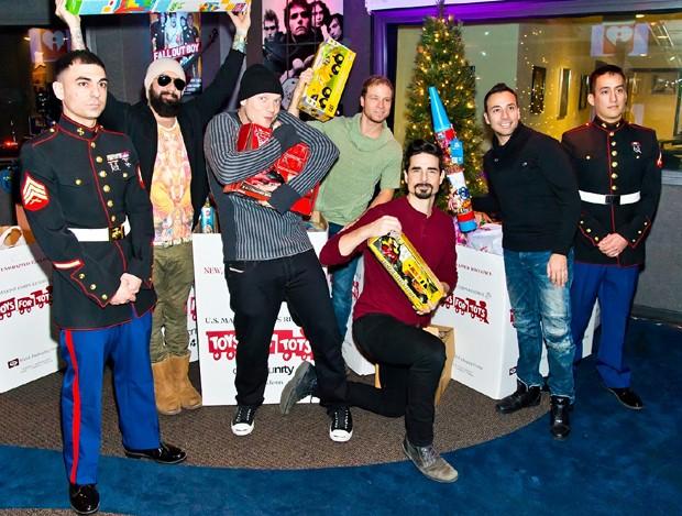 Backstreet Boys (Foto: AKM GSI Brasil)