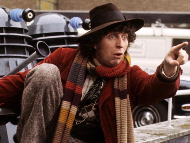 Tom Baker em 'Doctor Who' (Foto: Divulgação)