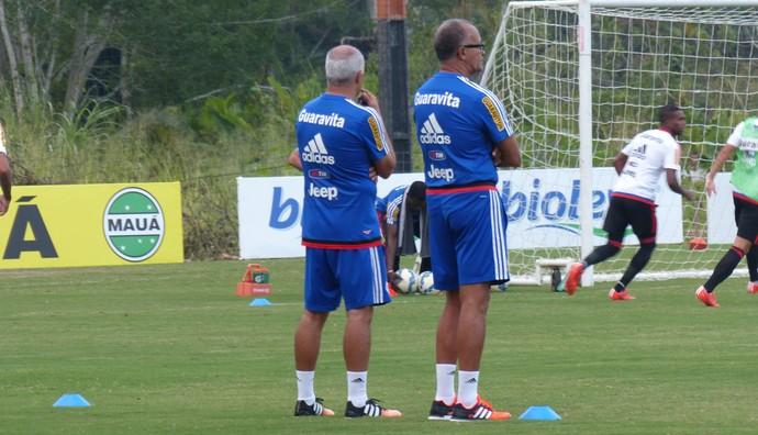 Jayme de Almeida, treino do Flamengo, Ninho do Urubu (Foto: Richard Souza)