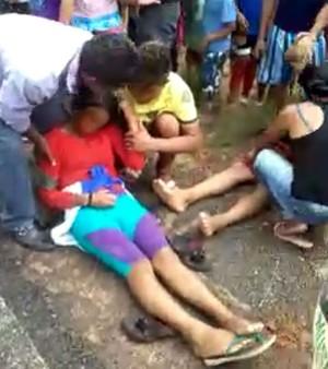 Atletas foram trazidos para a capital Boa Vista, distante cerca de 160 km de Amajari (Foto: Imagem/Divulgação)