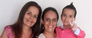 Conheça as mães que enviaram as fotos e foram pra telinha da TV Tribuna; acesse (João Paulo Obrali Ribeiro dos Santos)