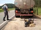 Polícia Rodoviária Estadual apreende 76 kg de maconha em Juquiá, SP