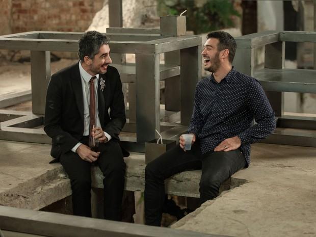 Bipolar Show: Michel Melamed e Marcos Veras (Foto: divulgao)