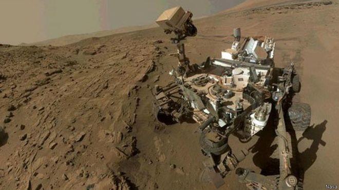 Nasa encontra evidências de podem existir 'salmouras' na superfície de Marte (Foto: Nasa)