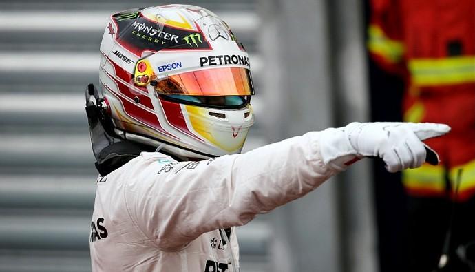 Lewis Hamilton pole Mônaco (Foto: Reuters)