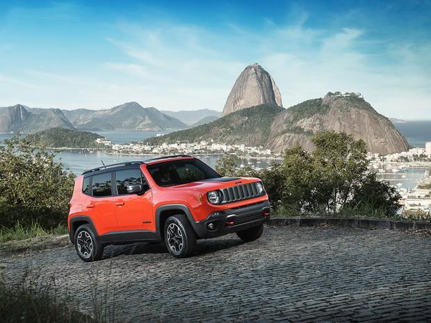 Jeep Renegade Trailhawk (Foto: Marcos Camargo/Divulgação)