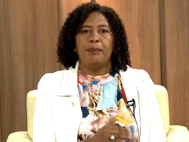 Rose Sales, candidata a prefeita de São Luís (Foto: Reprodução/TV Mirante)