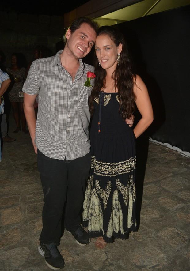 Adriana Birolli e Alexandre Contini (Foto: Felipe Souto Maior/AgNews)