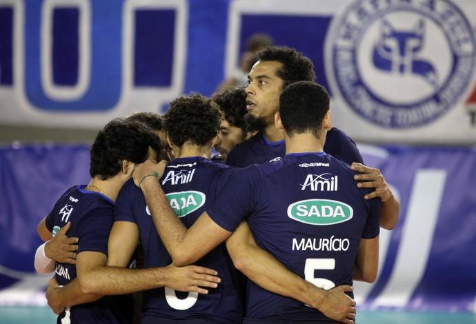 Cruzeiro Vôlei (Foto: Divulgação/Sada Cruzeiro)