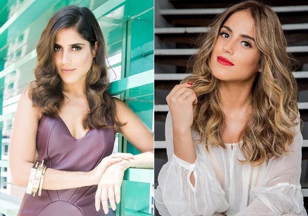 Antes e depois de Camilla Camargo (Foto: Patricia Canola)