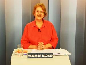 Margarida Salomão (PT) candidata a prefeita de Juiz de Fora.jpg (Foto: Rafael Antunes/G1)