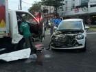 Menores batem carro roubado em Jardim da Penha e um é detido