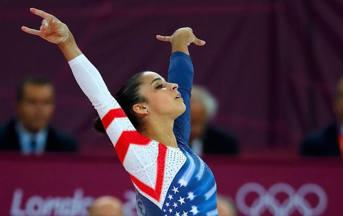 alexandra raisman londres 2012 olimpadas (Foto: Reuters)