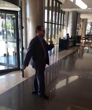 Coronel Nunes, presidente em exercício da CBF (Foto: Martin Fernandez)