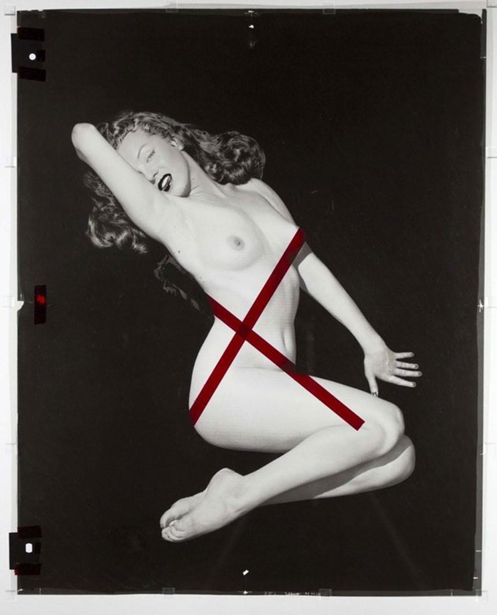 Primeiras fotos nuas de Marilyn Monroe são redescobertas (Foto: reprodução)
