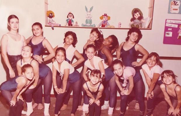 Fátima Bernardes já foi professora de balé